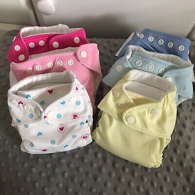 Charlie Banana x-small diapers Lot of 6