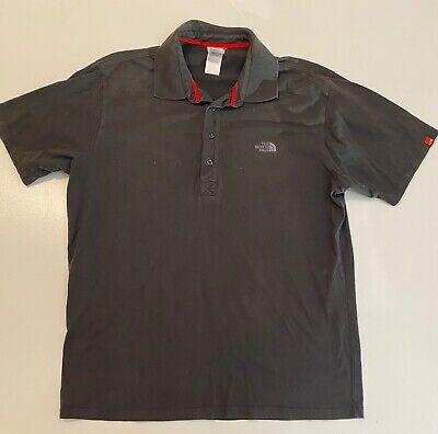 The North Face Charcoal Gray Polo Shirt Men's Size Large