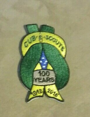 CENTENARY 100 YEARS OF CUB SCOUTS badge patch