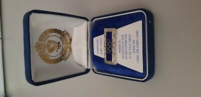 NSW Police Commissioner's Olympic 2000 Citation Pin