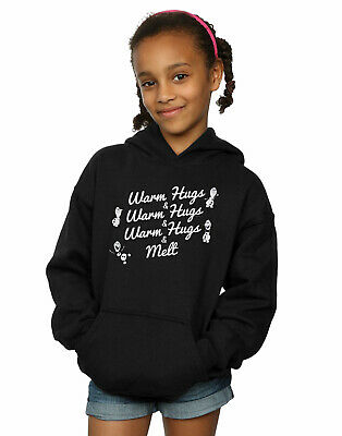 Disney Girls Frozen 2 Olaf Warm Hugs And Melt Hoodie