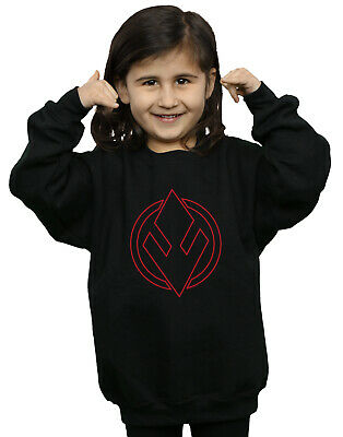 Star Wars Girls The Rise Of Skywalker Sith Order Insignia Sweatshirt