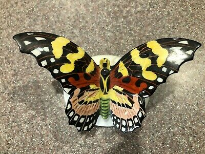 Vintage Rosenthal porcelain hand painted butterfly