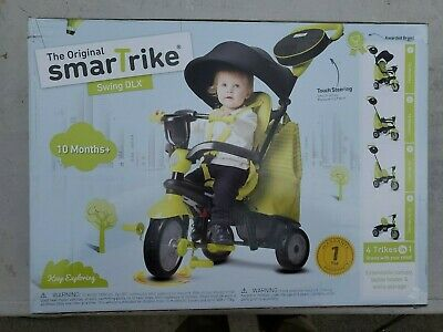 SmarTrike 4 in 1 Baby Tricycle For Toddlers 10-36 months Smart Trike Swing DLX
