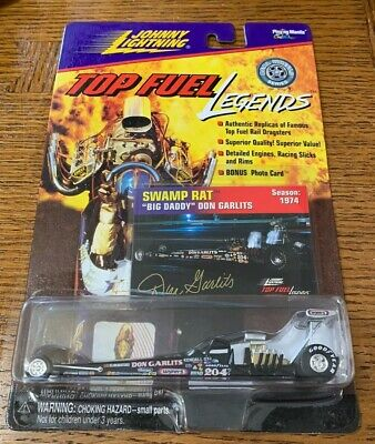 Johnny Lightning Top Fuel Legends Swamp Rat 10 Big Daddy Don Garlits Die Cast
