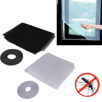 Window Mesh Net Door Curtain Prevent Mosquito Insects Fly Screen X3Q8