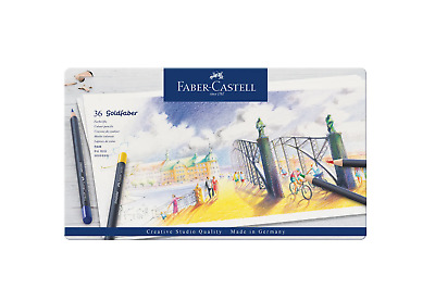 Faber Castell 36 Goldfaber Pencils Crayon Couleur Art Artiste Dessin Draw 400540