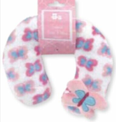 Cribmates New Born Baby Girl Neck Pillow/ Support. Soft On Your Baby's Neck