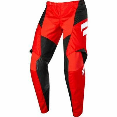 Pant. Moto Cross Shift 2019 York Label Whit3 Red tg.36