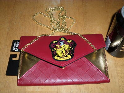 envelope pouch harry potter griffon d/'or gryffindor #04 pochette zip