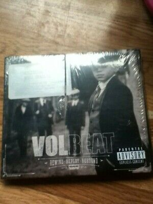 volbeat rewind replay rebound digipac x2cds factory sealed heavy metal
