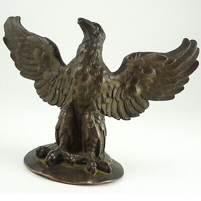 American Eagle Gorham SOLID Bronze Sculpture / Paperweight - Antique Hallmarked