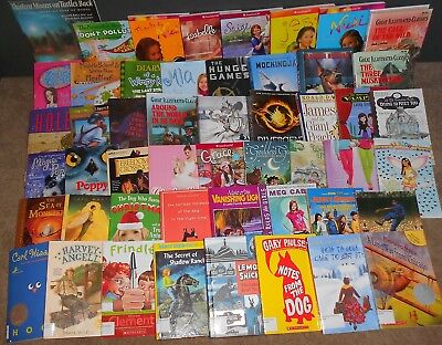 30 AR Accelerated Reader Books Levels 5.5 and up  *YOU PICK THE TITLES!*