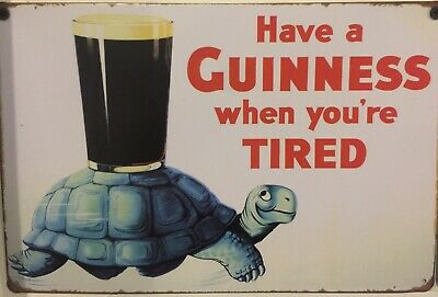 Guiness Metal Sign