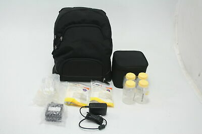 Medela Advanced Personal Double Breast Pump W Extra Supplies