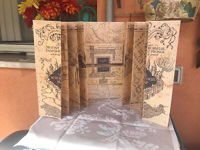 Mappa Del Malandrino Replica Harry Potter