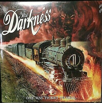 The Darkness –One Way Ticket To Hell.And Back - VINYL LP EU 081227334710-SEALED