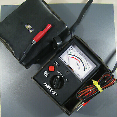 Amprobe AMP Electrical Insulation Resistance Tester and Megohmmeter