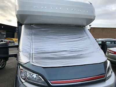 Polar Silver Thermal Screen Cover -Fiat Ducato / P.Boxer-with extended Vent Flap