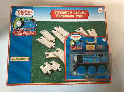 6pc 3.5 short CURVED Wooden EXPANSION TRACK PACK  NEW Thomas Tank Engine Railway
