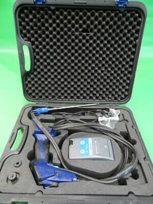 Wohler A 400 Flue Gas Analyzer & TD 600 Thermoprinter case and accessories.