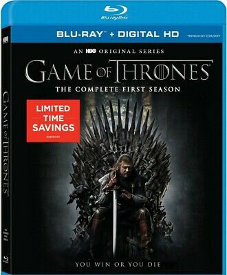 Game Of Thrones The Complete First Season Blu-ray 2015 HBO Sean Bean Fantasy