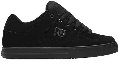 DC Pure Black/Black Mens Skate/Casual Shoes. Sizes: 9,11,12,13