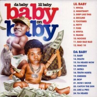 DaBaby & LIl Baby   Baby On Baby (CD Mixtape)