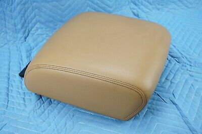 Infiniti QX80 Front Center Console Armrest Saddle Tan 2017 OEM