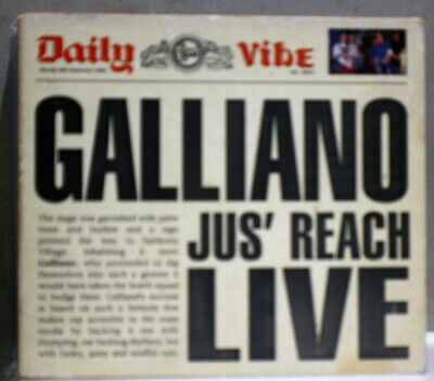 Galliano Jus' Reach Live Cd Ep