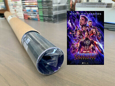 Avengers Endgame End Game Original DS Double Sided One Sheet 27x40 Poster | DMR