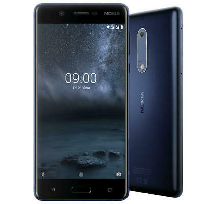 Nokia 5 - 16GB - Tempered Blue (Unlocked) Smartphone with Warranty