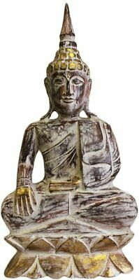Carved Wooden - Gold Buddha Statue - 63cm