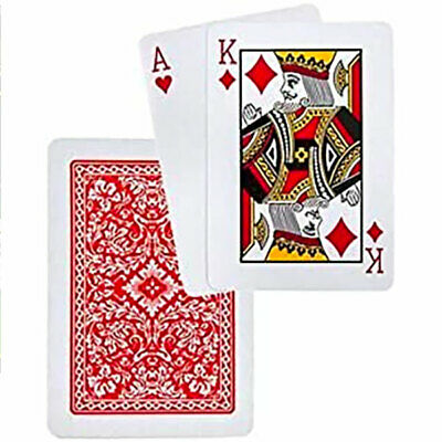 Plastic Coated  Playing Cards Games Casino -- Clearance Limited Offer --