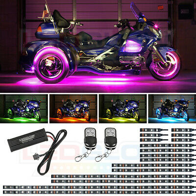 LEDGlow LiteTrike I Advanced Million Color LED Lighting Motorcycle Lighting Kit