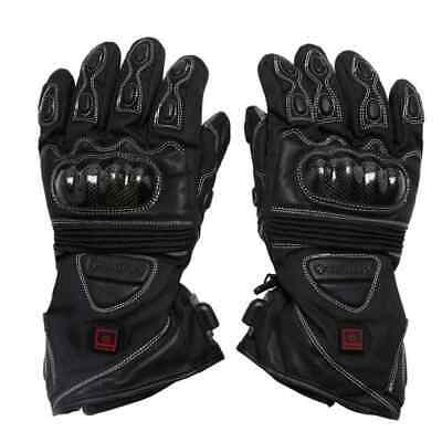 Venture 12V Heated Carbon Street Cold Weather Protection Snowmobile Gloves