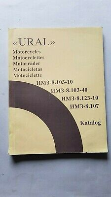 URAL Moto Sidecar 1997 Catalogo Ricambi Originale Spare Parts Catalogue