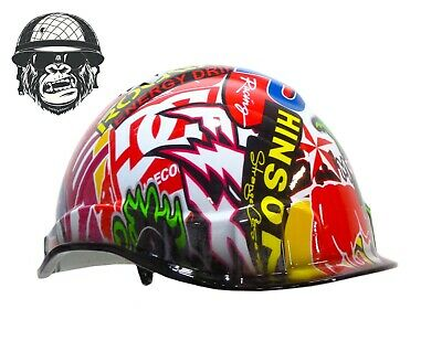 Custom Hydrographic Safety Hard Hats ENERGY LINESMEN