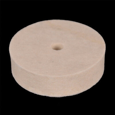 3'' Inch Felt Polishing Wheel 10*76*20Mm Felt Wool Buffing Polishers Pad J HV