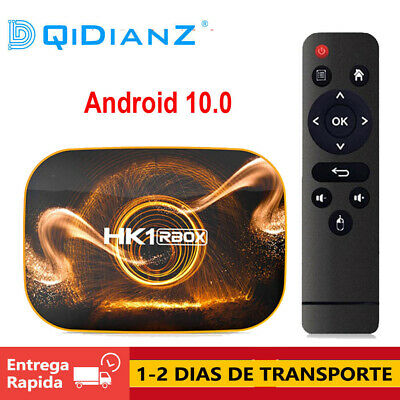 Android 10 HK1 RBOX R1 TV Box Rockchip RK3318 1080p 4K Google Play Media Player