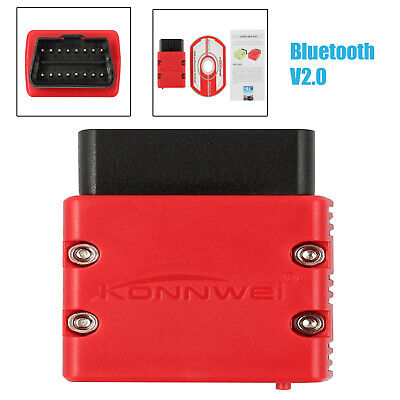 Bluetooth OBD2 Scan Tool mit Software-CD 16Pin Bluetooth V2.0 Für Android PC NEU