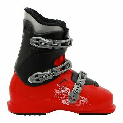 CHAUSSURE SKI OCCASION Salomon Junior T2 T3 performa Rouge