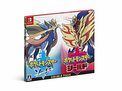 New Switch Game Pokemon Sword Shield Double Pack Japan