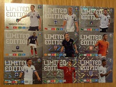Panini Adrenalyn XL Euro 2020 Various Limited Edition cards