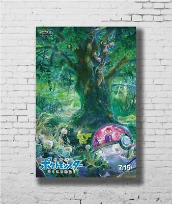 H214 24x36 14x21 40 Poster Pokemon the New Japan Movie I Choose You Art Hot