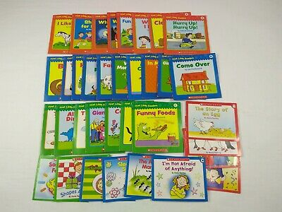35 Scholastic Kids Books - 25 First Little Readers, 10 Little Leveled Readers