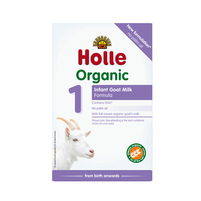 Holle Organic Goat Milk Baby Formula - Stage 1 - 4 Pack