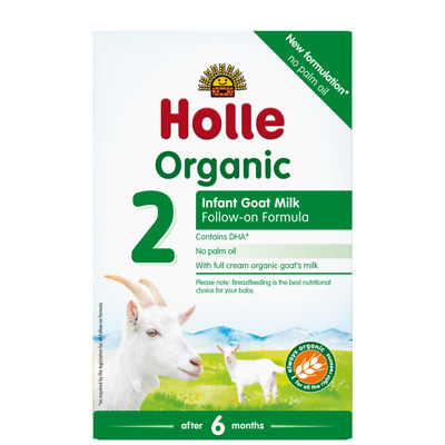 Holle Organic Goat Milk Baby Formula - Stage 2 - 3 Pack