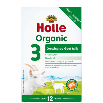 Holle Organic Goat Milk Baby Formula - Stage 3 - 10 Pack