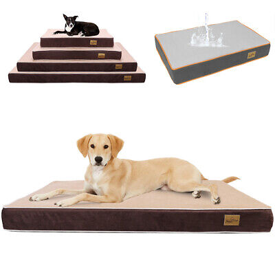 Chew Resistant Waterproof Dog Bed Easy Clean Tough Durable Cage Kennel Sleep Mat